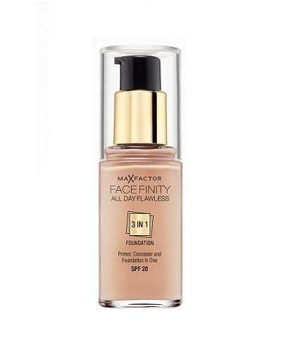 Max Factor Facefinity 3in1 Foundation 30ml - 75 Golden