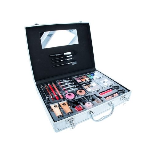2K Beauty Unlimited Train Case 63,2g W Complete Makeup Palette