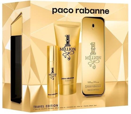 Paco Rabanne 1 Million M EDT 100ml + SG 75ml + EDT 10ml