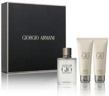 Giorgio Armani Acqua Di Gio M EDT 100ml + SG 75ml + ASB 75ml SET