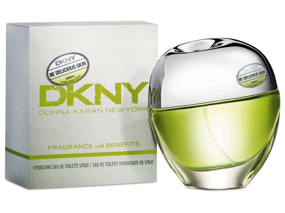 DKNY Be Delicious Skin Hydrating Eau De Toilette W EDT 50ml