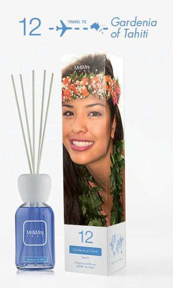Mr&Mrs Fragrance Easy Fragrance Diffuser 12 Gardenia of Tahiti