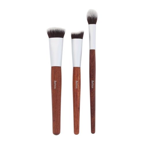 Sefiros Red Wood Contouring Brush Kit