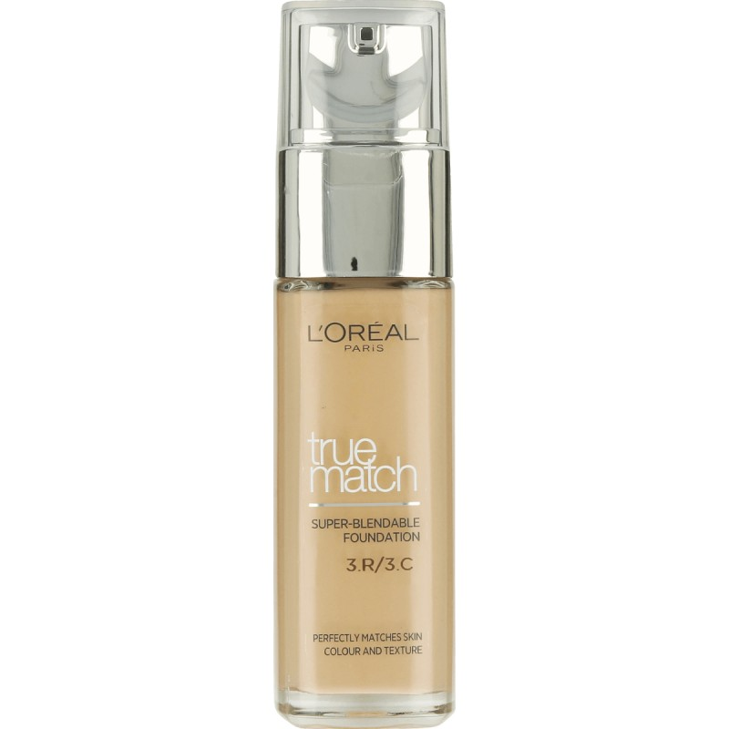L´Oréal Paris True Match Foundation SPF17 30ml - 3.R/3.C Rose Beige
