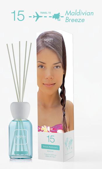 Mr&Mrs Fragrance Easy Fragrance Diffuser 15 Maldivian Breeze
