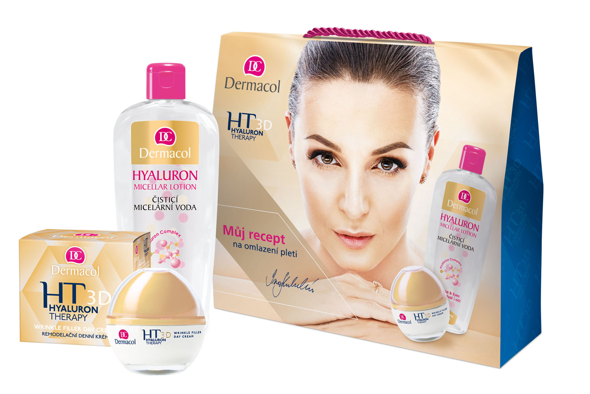 Dermacol 3D Hyaluron Therapy Set
