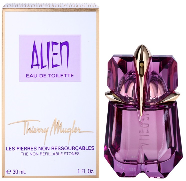 Thierry Mugler Alien The Non Refillable Stones W EDT 30ml