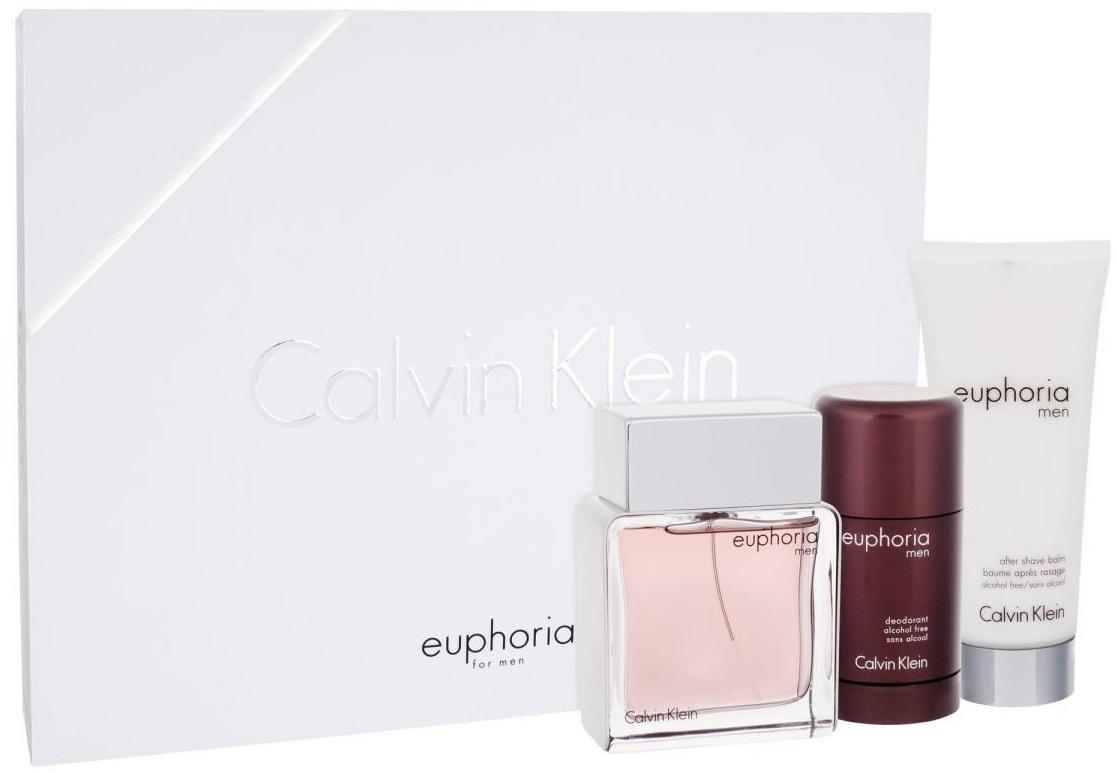 Calvin Klein Euphoria Men M EDT 100ml + ASB 100ml + deostick 75ml