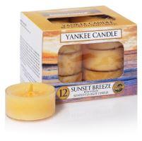 Yankee Candle čajové svíčky 12 x 9,8g Sunset Breeze